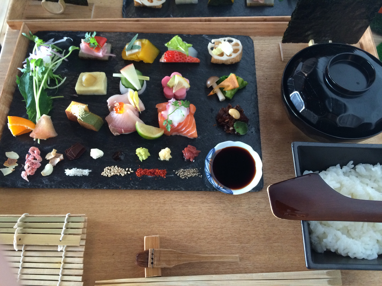 手織り寿司♪