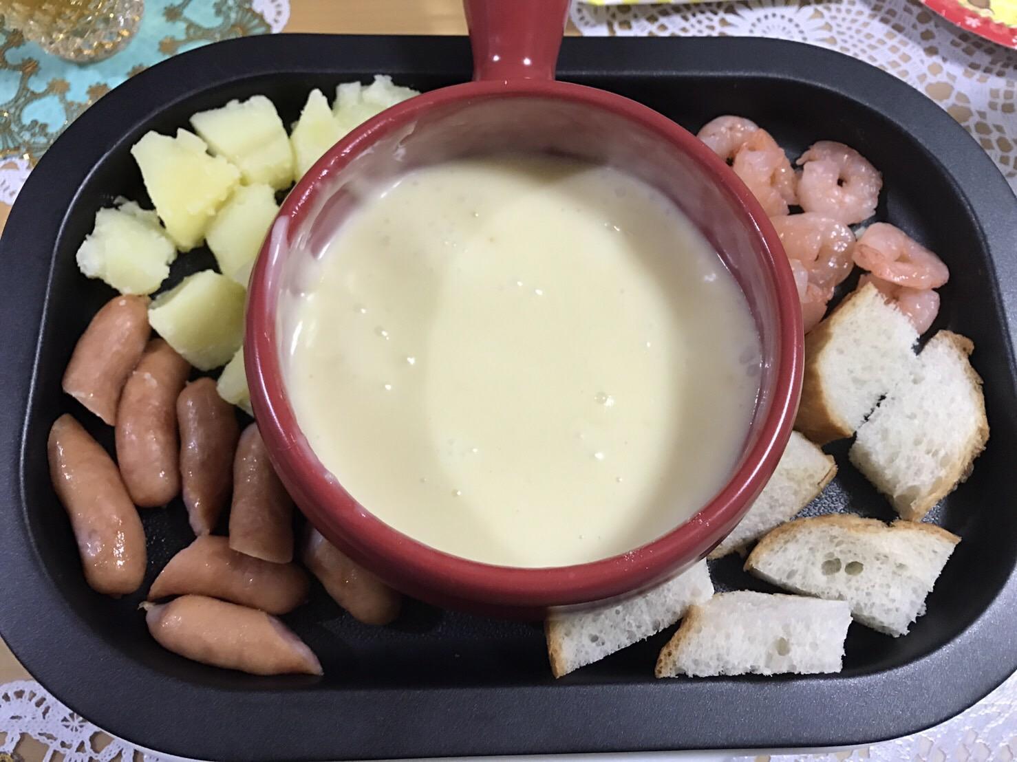チーズフォンデュ♪